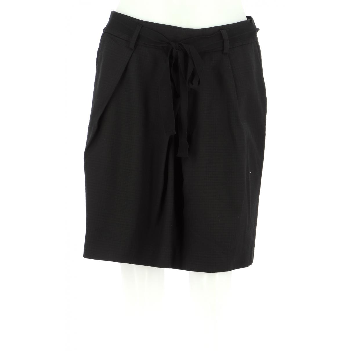 Comptoir Des Cotonniers \N Black Cotton skirt for Women 40 FR