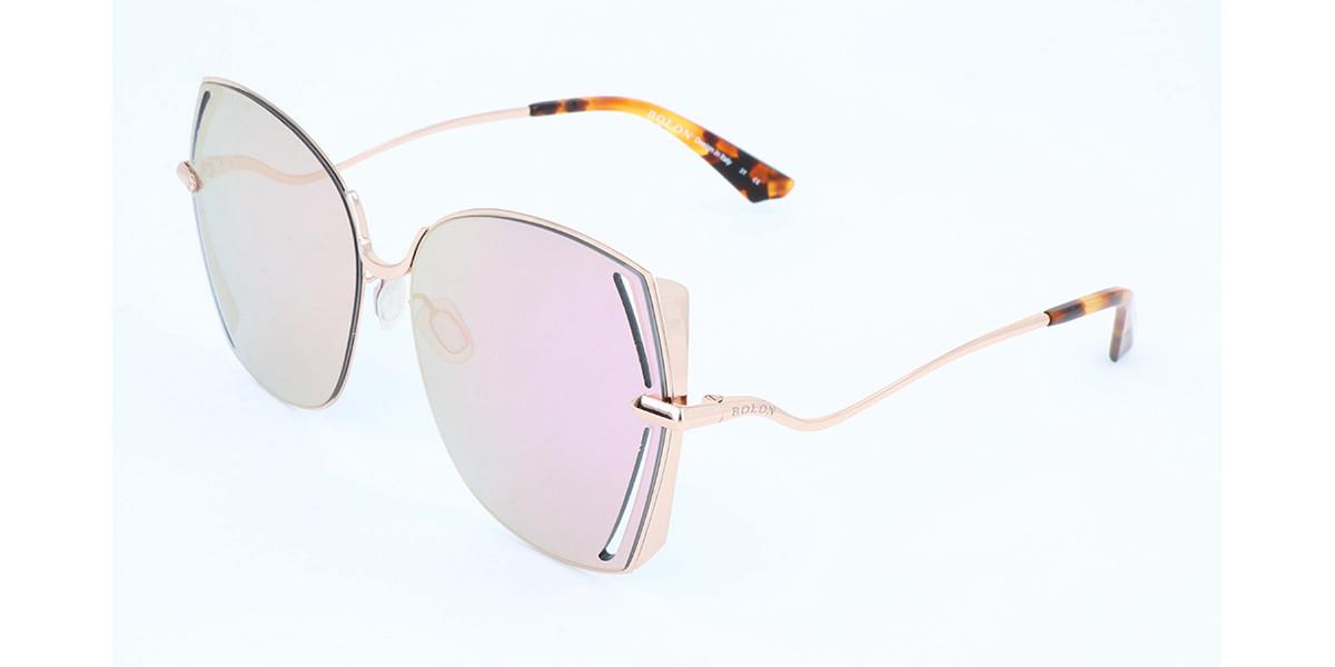 Bolon BL8038 B62 Women's Sunglasses Gold Size 59