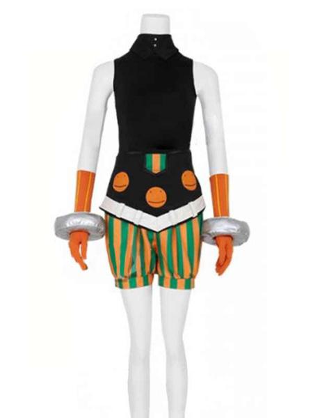 Milanoo Halloween Disfraz Carnaval Boku No Hero Academia Cosplay Fukukato Emi Negro Poliester Pantalones Diadema Disfraces de cosplay Carnaval