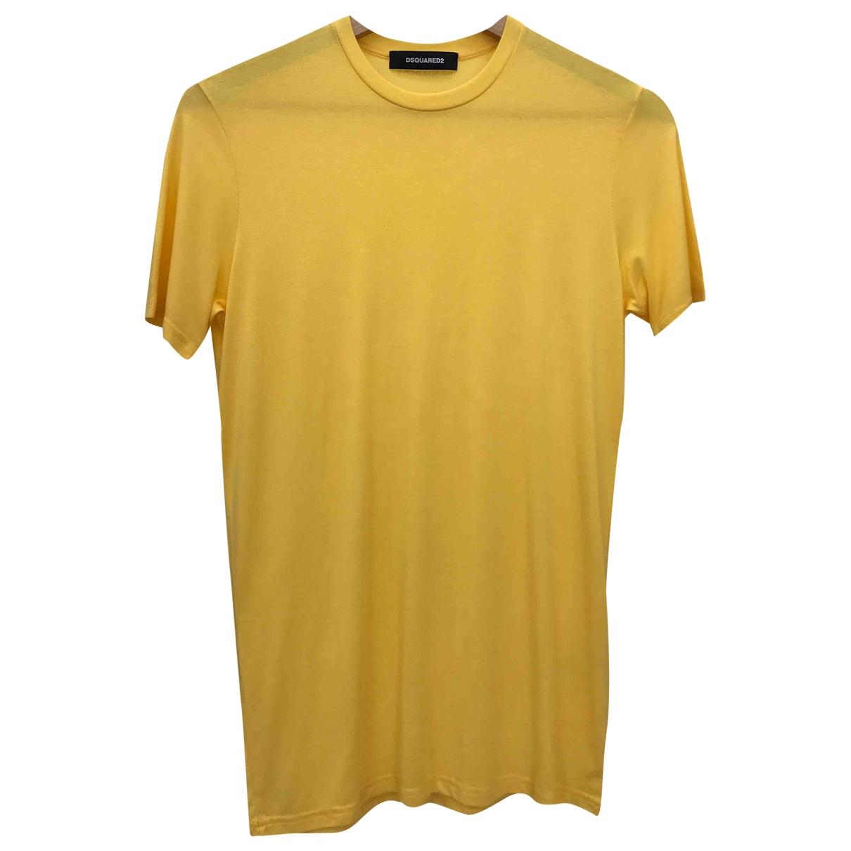 Dsquared2 - Top   pour femme - jaune