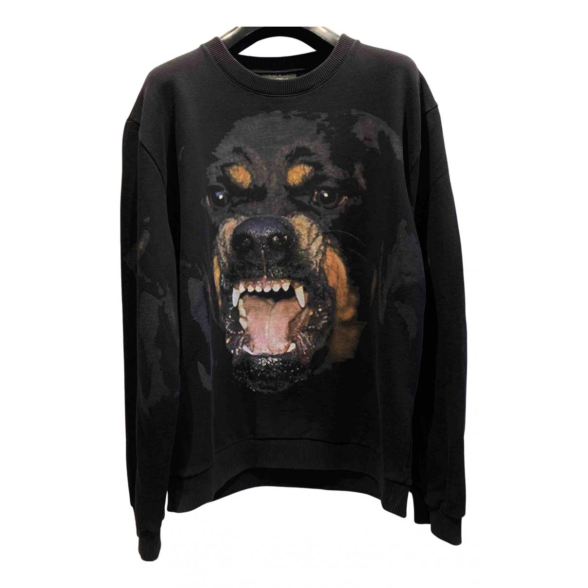 Givenchy N Black Cotton Knitwear & Sweatshirts for Men L International
