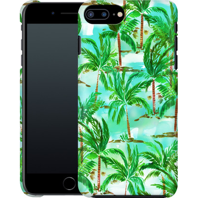 Apple iPhone 7 Plus Smartphone Huelle - Palm Tree Green  von Amy Sia