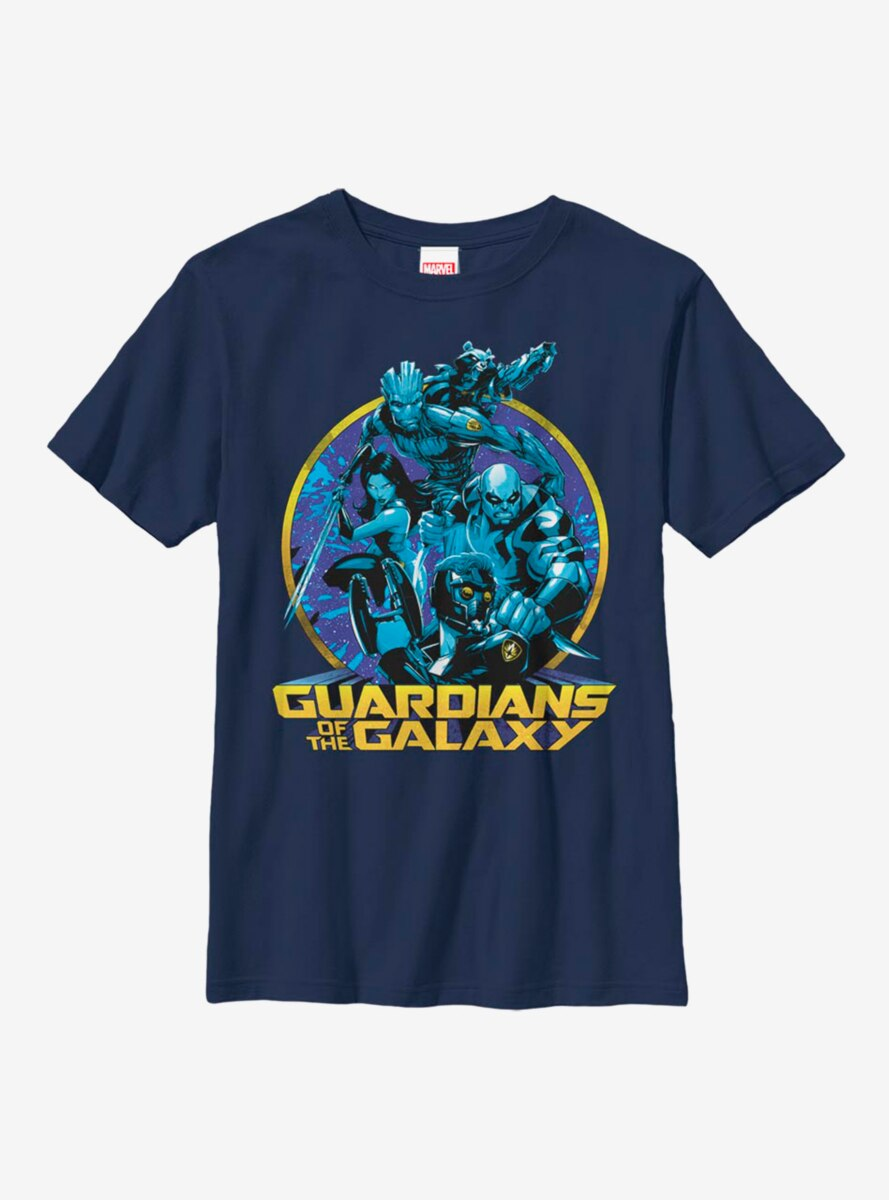 Marvel Guardians Of The Galaxy Galaxy Hues Youth T-Shirt