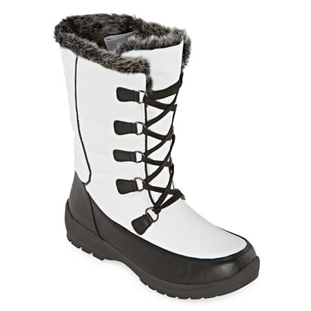 Totes Womens Alana Waterproof Insulated Winter Boots Flat Heel, 8 Medium, Multiple Colors