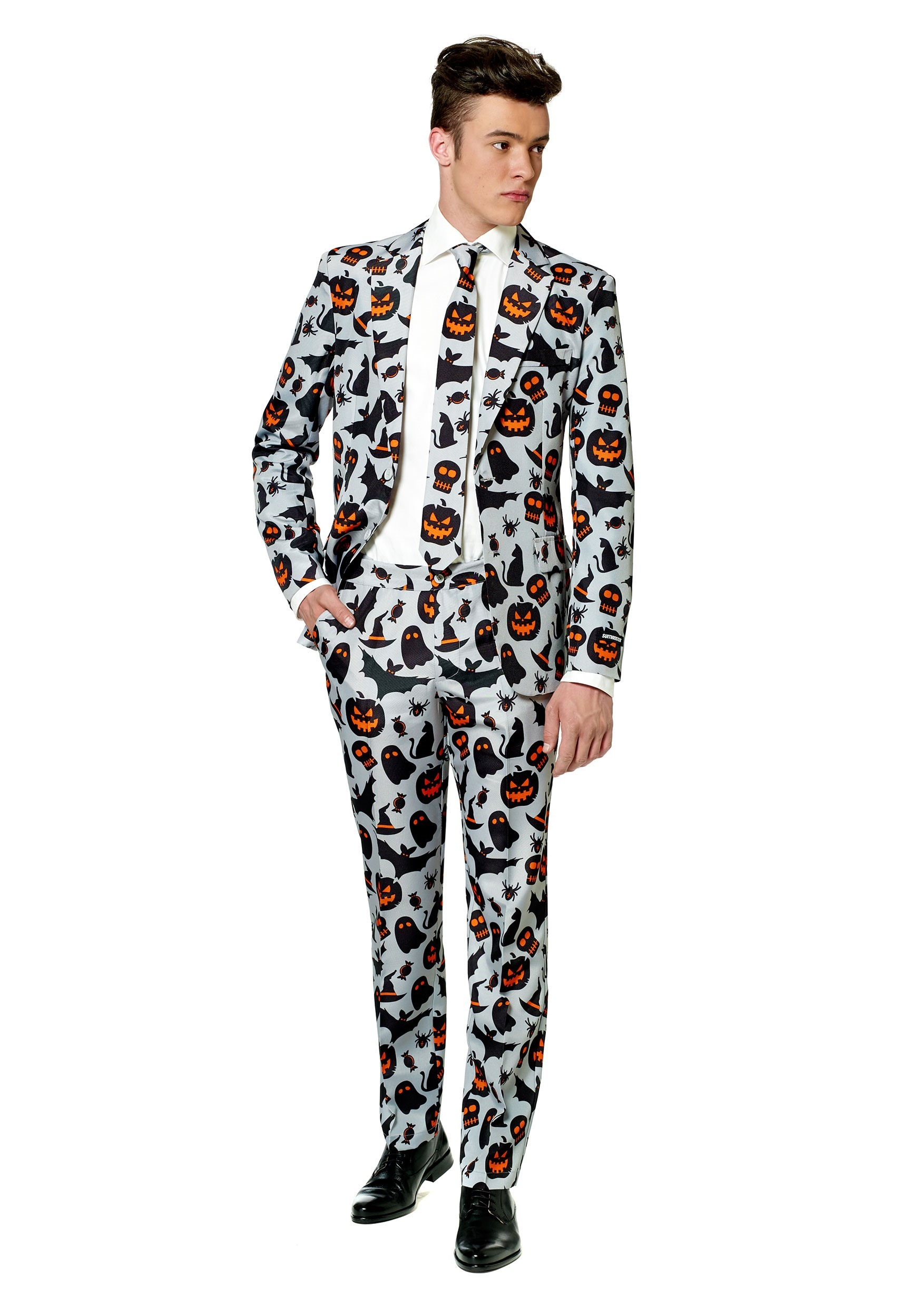 Suitmeister Halloween Pumpkin Men's Suit