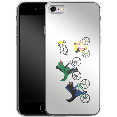 Apple iPhone 6s Silikon Handyhuelle - Monster Race von Le Tour de France