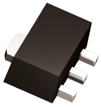 ON Semiconductor N-Channel MOSFET, 1.2 A, 250 V, 3-Pin SOT-89  PCP1402-TD-H (20)