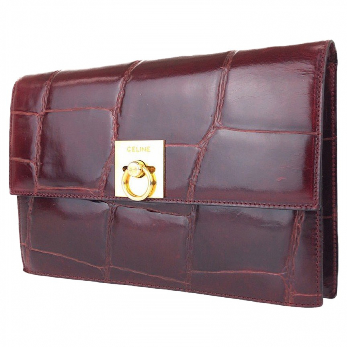 Celine \N Multicolour Leather Clutch bag for Women \N