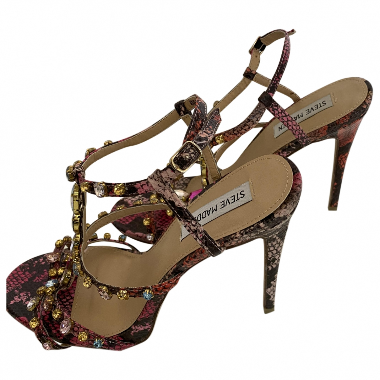 Steve Madden \N Multicolour Leather Sandals for Women 39 EU