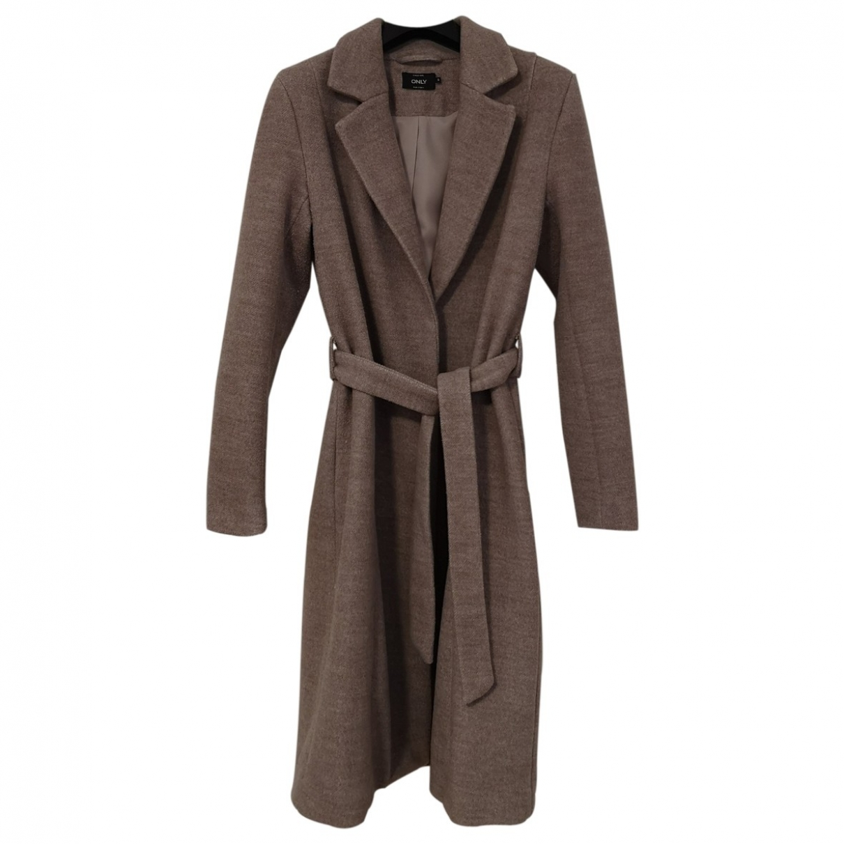 Non Signé / Unsigned \N Beige coat for Women 36 FR