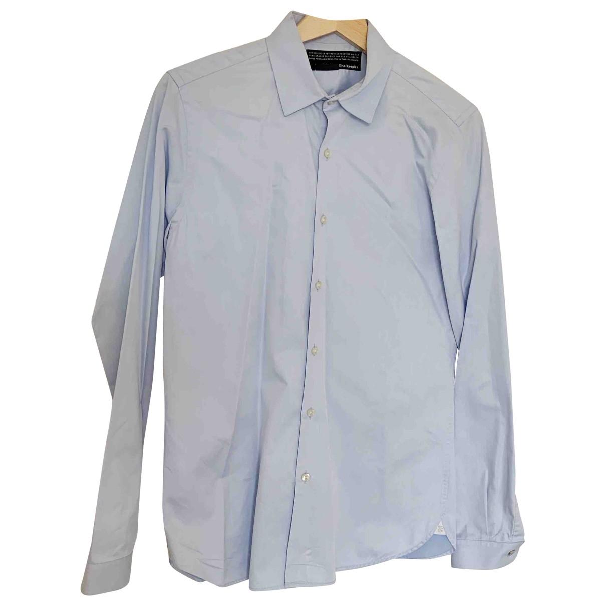 The Kooples \N Blue Cotton Shirts for Men XS International