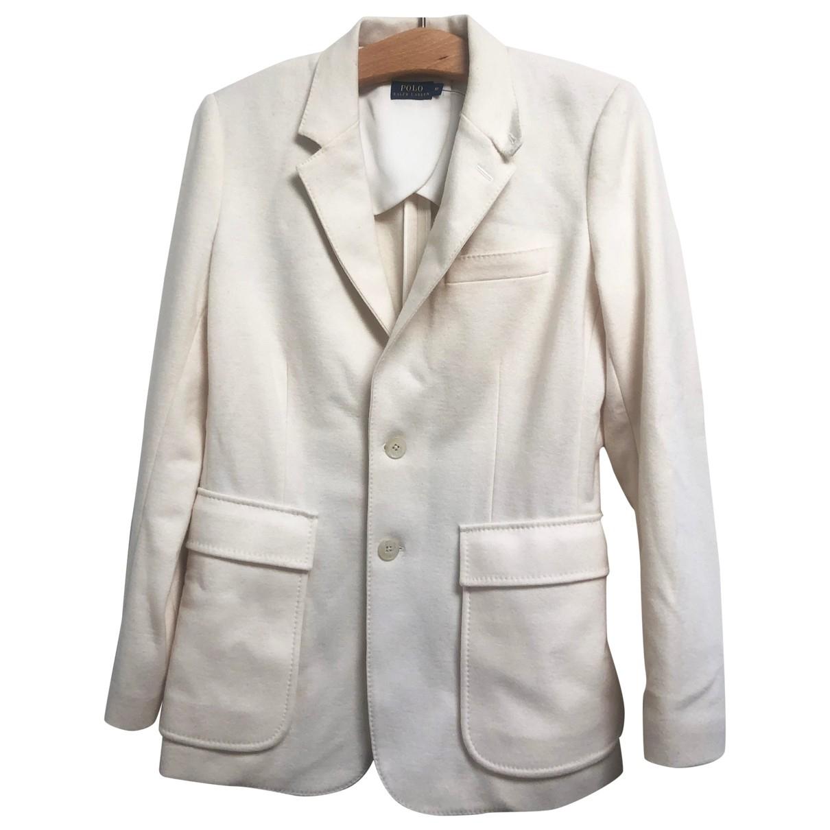 Polo Ralph Lauren \N White Wool jacket for Women M International
