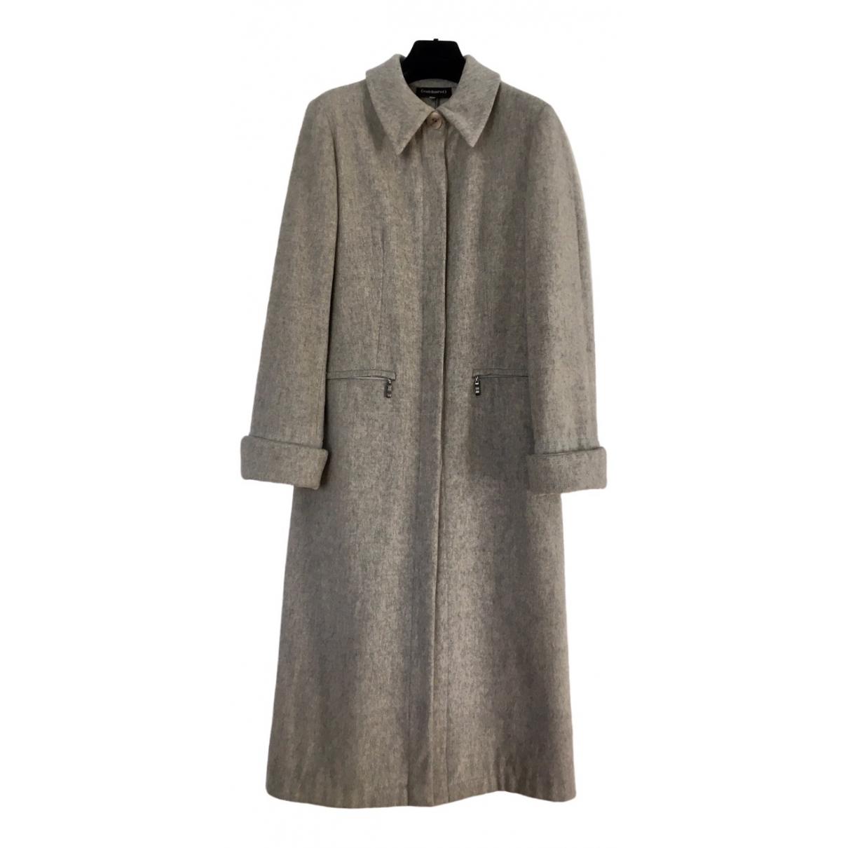 Cacharel \N Beige Wool coat for Women 40 FR