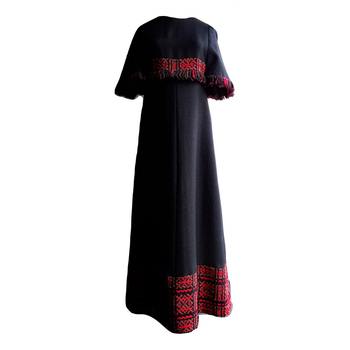 Maxi vestido Hippie Chic de Lana Non Signe / Unsigned