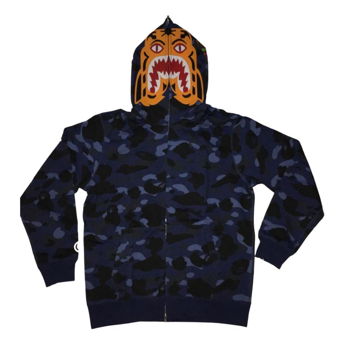 A Bathing Ape \N Navy Cotton Knitwear & Sweatshirts for Men XL International