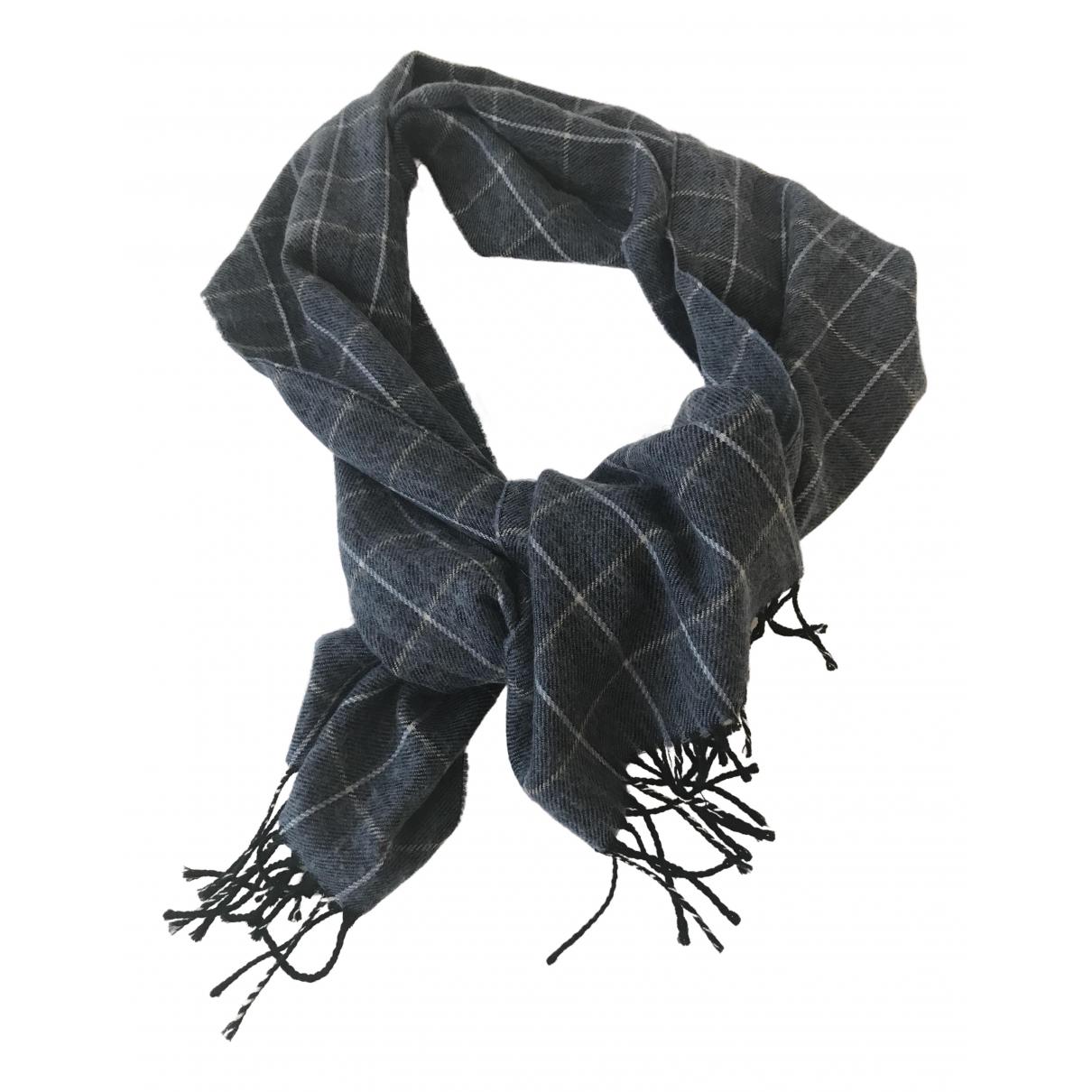 Cerruti \N Schal in  Blau Wolle
