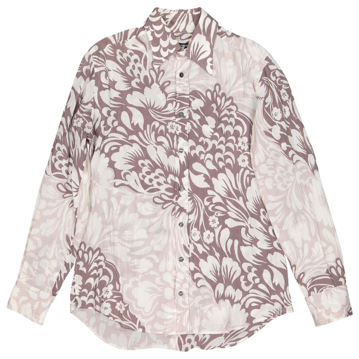 Dolce & Gabbana \N Hemden in  Braun Baumwolle