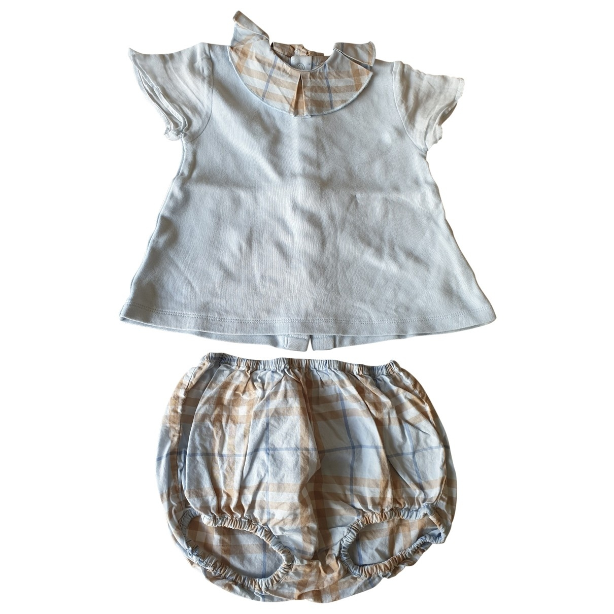 Burberry \N Blue Cotton Outfits for Kids 12 months - up to 74cm FR