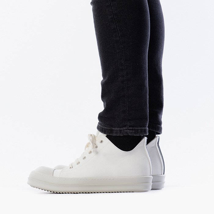 Rick Owens Low Sneaks DU20S5802 CTEH4 CHALK WHITE