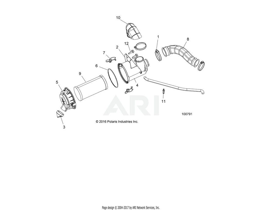 Polaris OEM 7082248 CLIP-AIRBOX