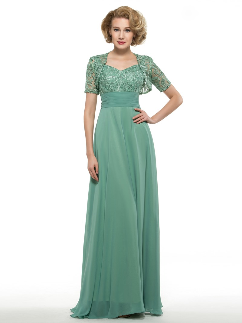 Ericdress Straps Lace Mother Of The Bride Dress With Jacket