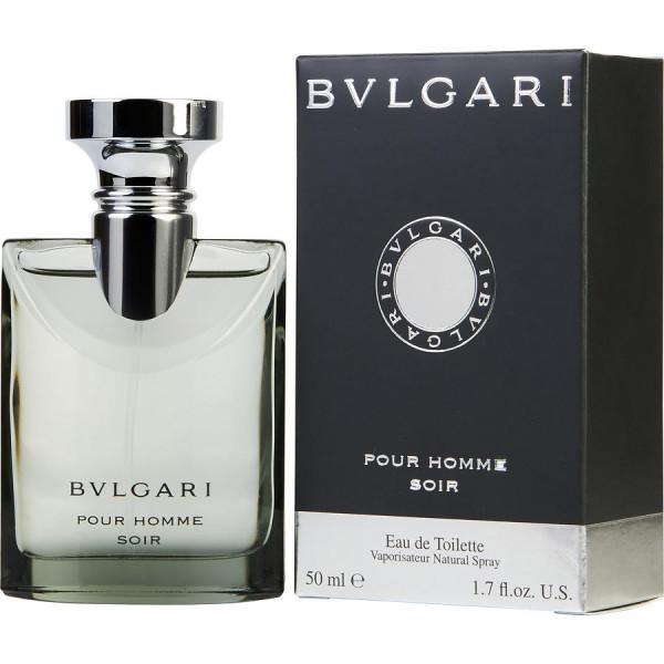 Bvlgari - Bvlgari Pour Homme Soir : Eau de Toilette Spray 1.7 Oz / 50 ml
