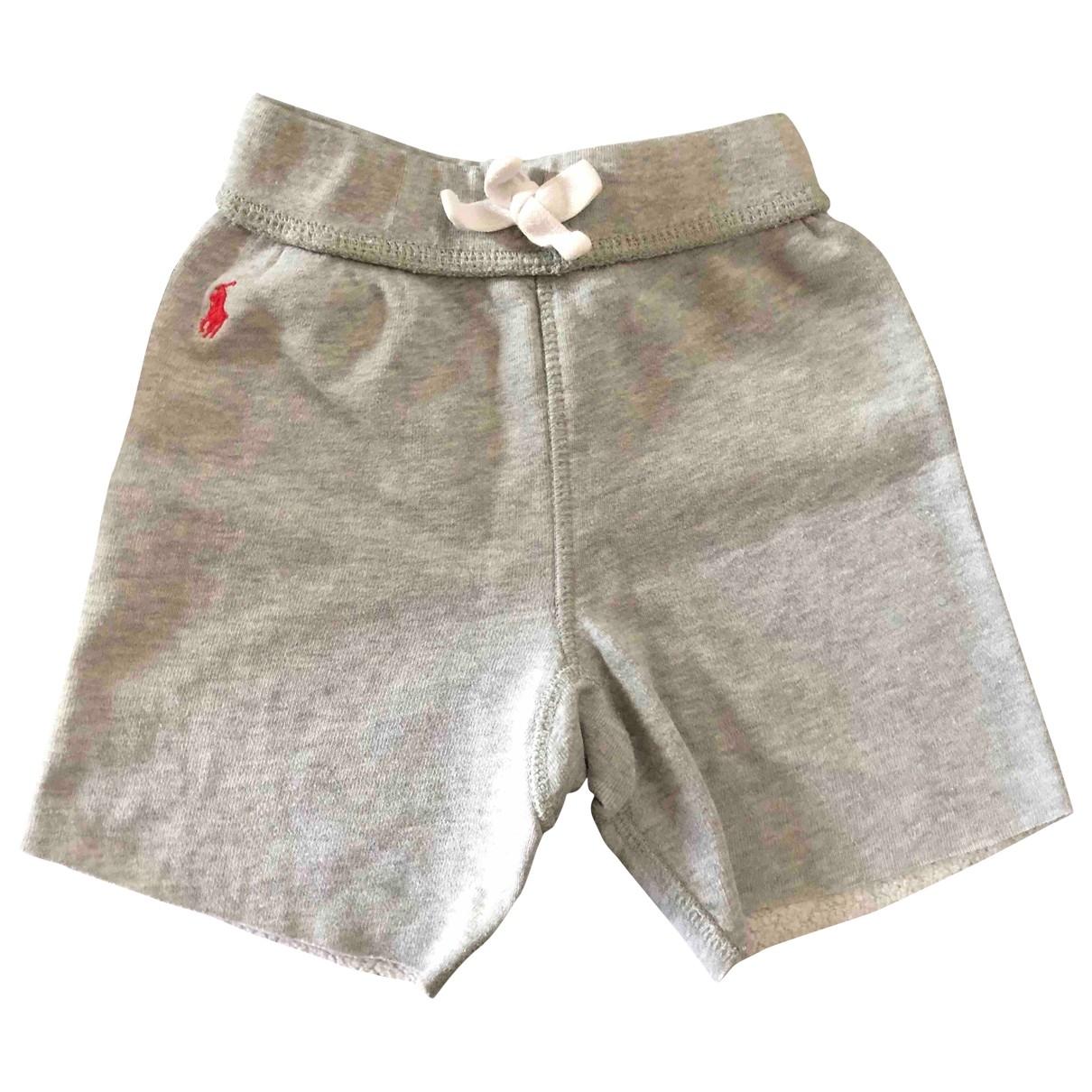 Polo Ralph Lauren - Short   pour enfant en coton - gris