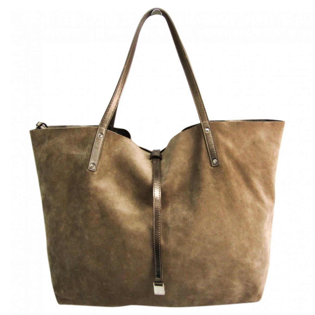 Tiffany & Co \N Handtasche in  Braun Leder
