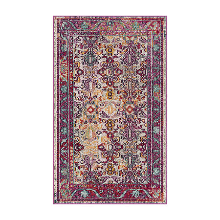 Safavieh Crystal Collection Mirjana Oriental Area Rug, One Size , Multiple Colors