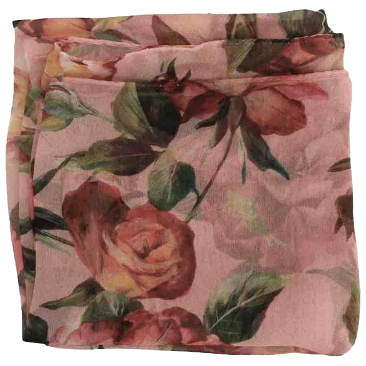 Dolce & Gabbana \N Pink Silk scarf for Women \N
