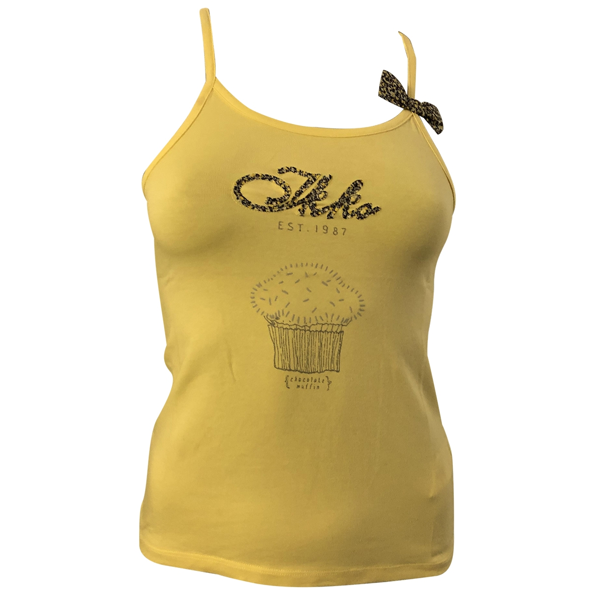 Ikks \N Yellow Cotton  top for Kids 10 years - up to 142cm FR