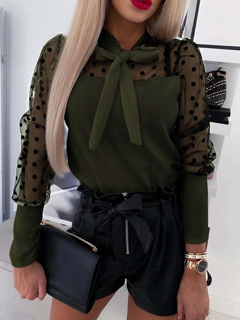 Ericdress Long Sleeve Standard Women's Blouse
