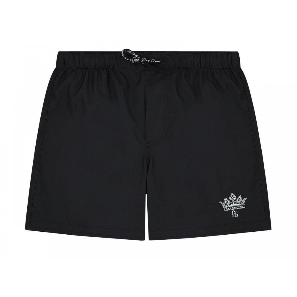 Dolce & Gabbana Swim Shorts Colour: BLACK, Size: 12 YEARS