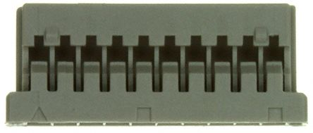 Hirose , DF14 Female Connector Housing, 1.25mm Pitch, 10 Way, 1 Row (50)