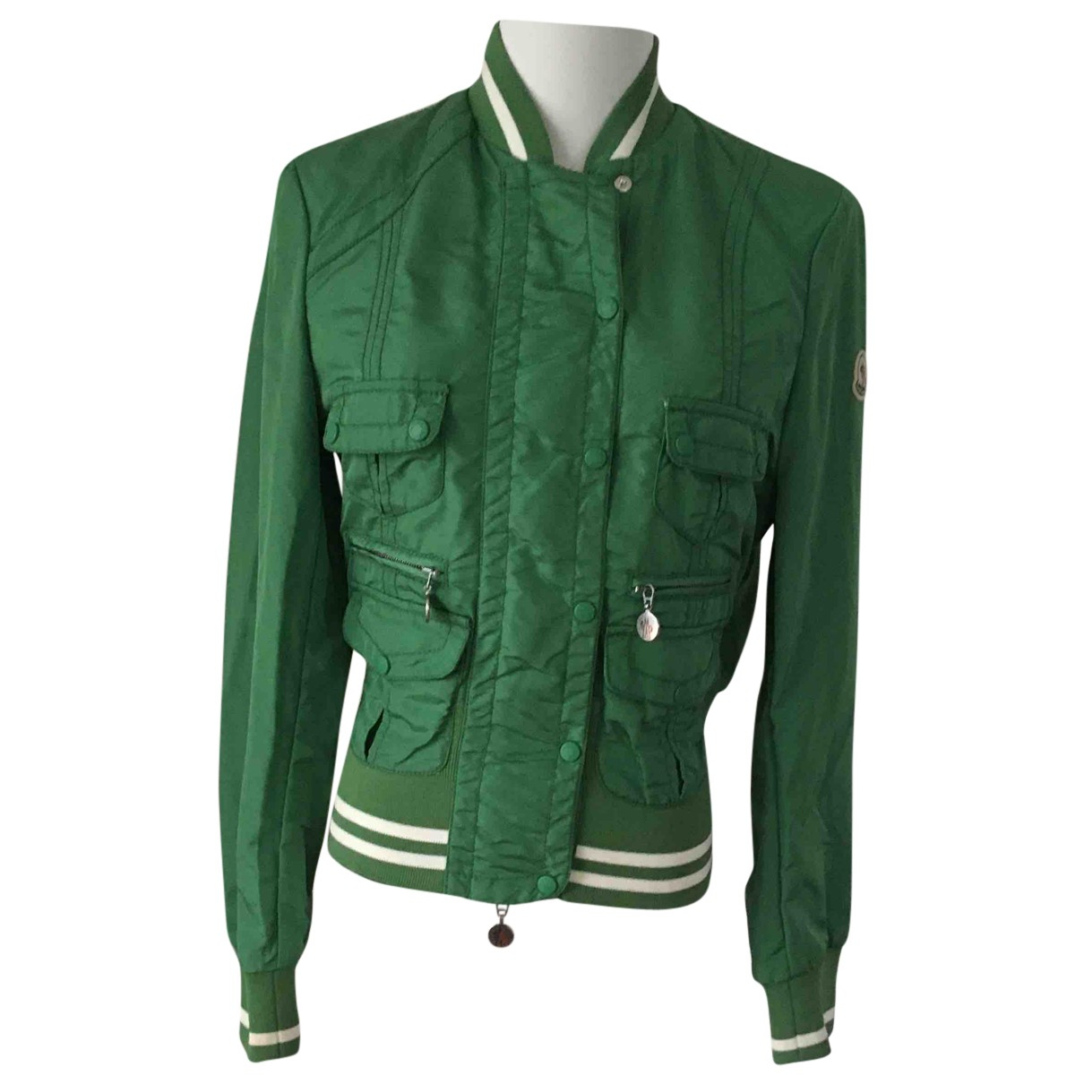 Moncler - Veste   pour femme - vert