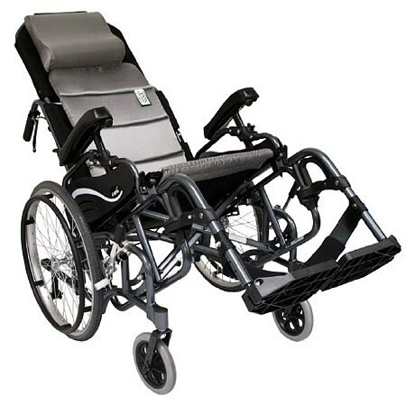 Karman Tilt in Space Lightweight Reclining Wheelchair Elevating 18 inch - 1.0 ea