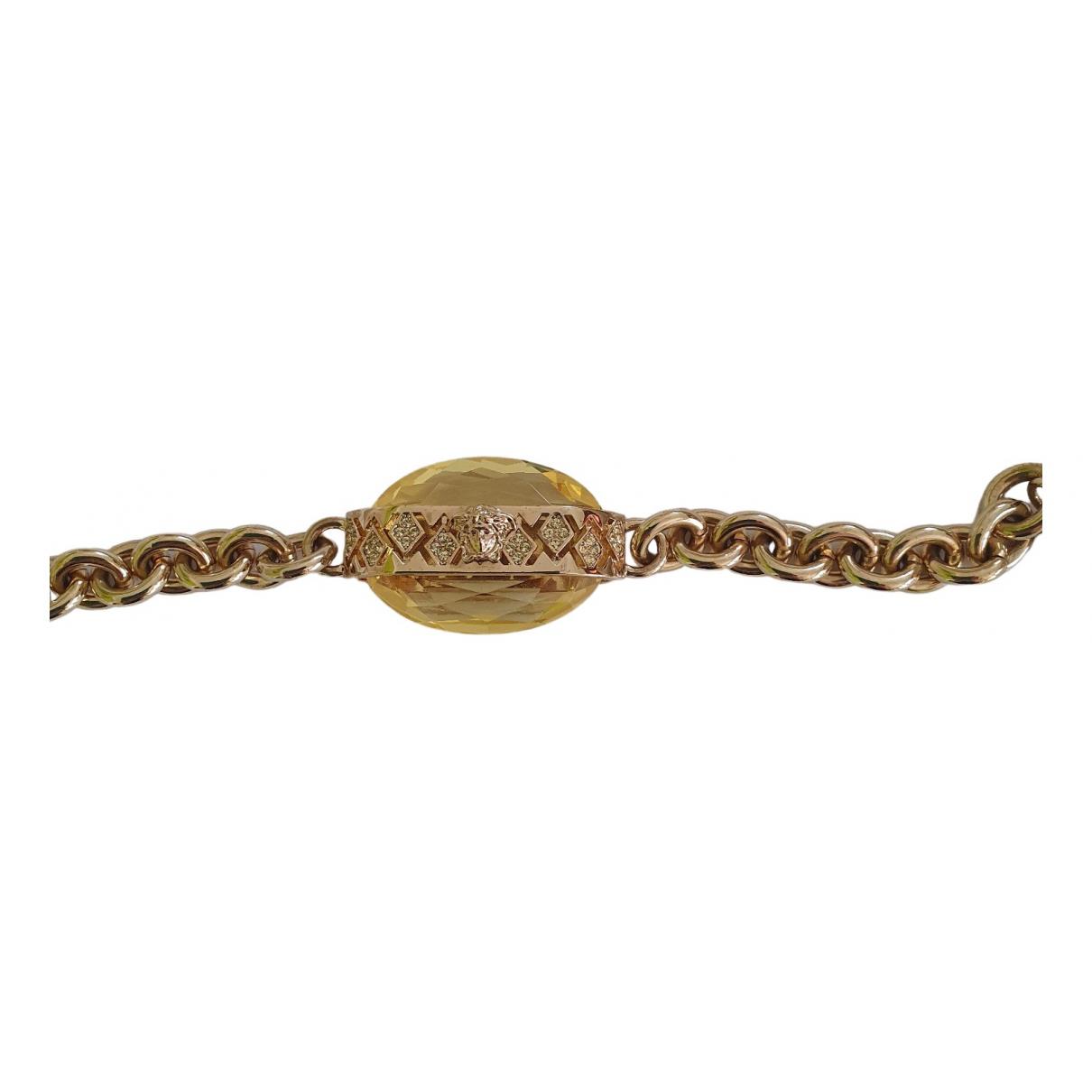 Gianni Versace - Bracelet   pour femme en metal - dore