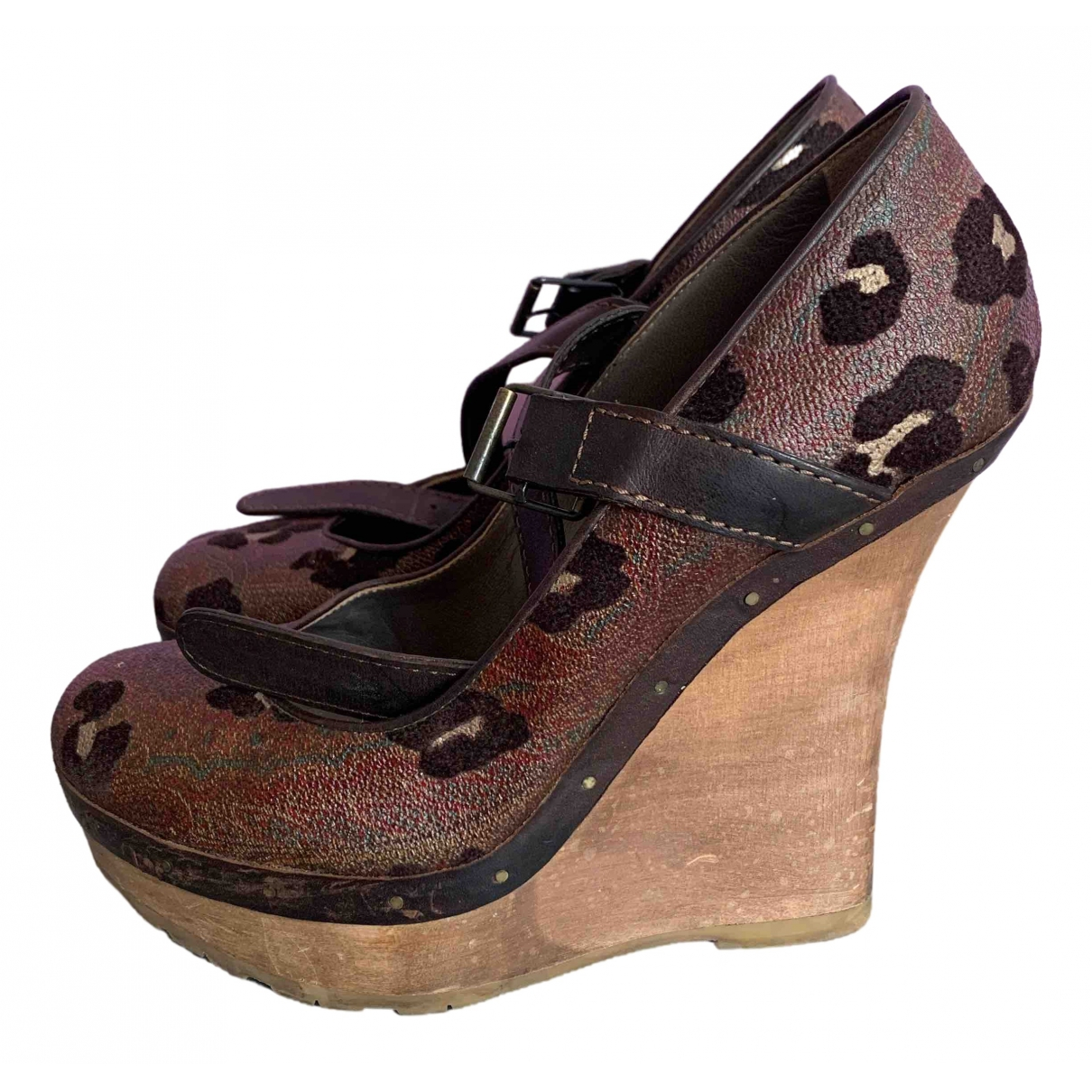 Etro \N Multicolour Leather Sandals for Women 38 IT