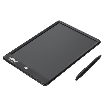 LCD Writing Tablet, Electronic Portable Magnetic Drawing & Writing Board - Moustache® - 10 inch