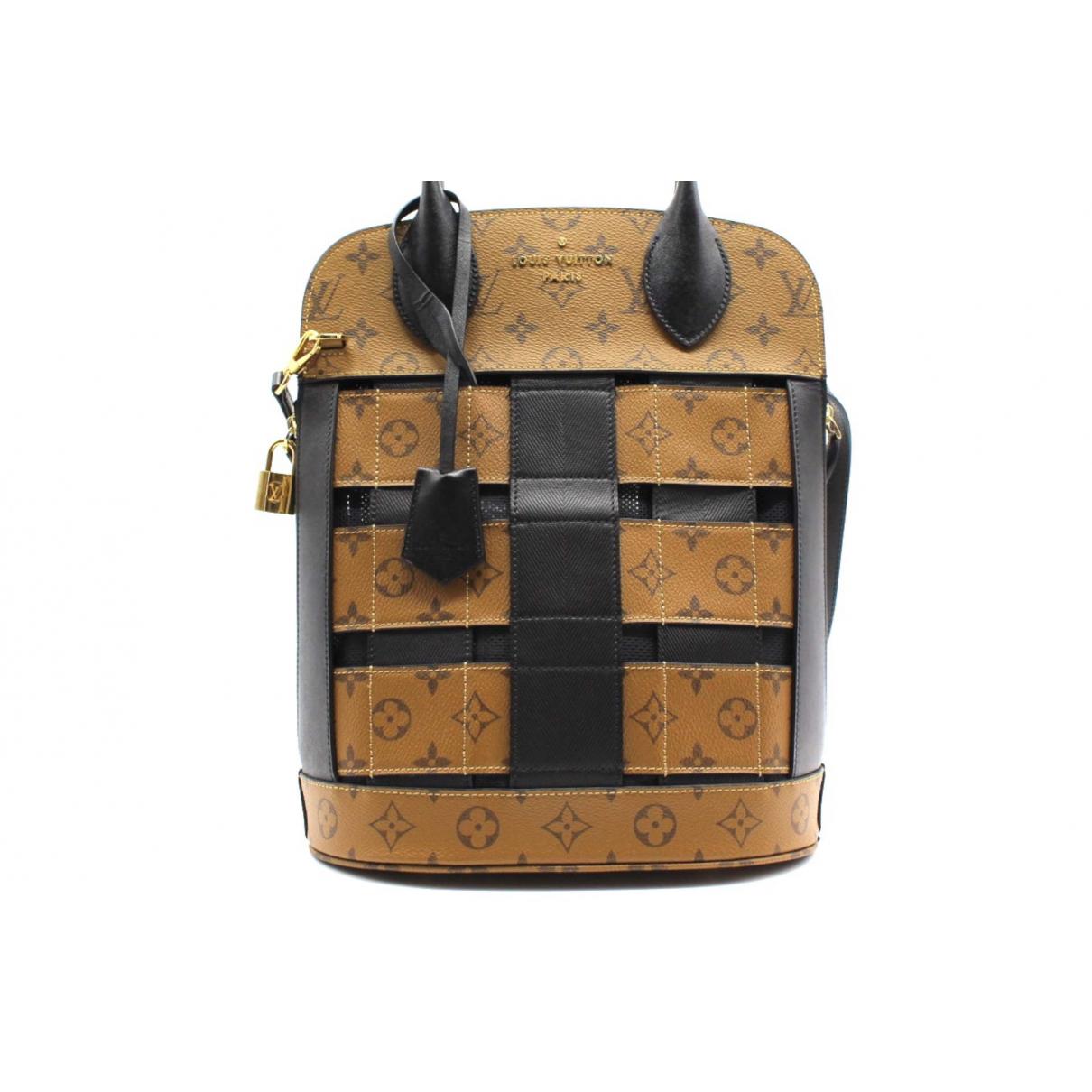 Louis Vuitton N Beige Cloth handbag for Women N