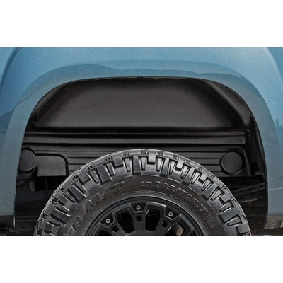 Rough Country Rear Wheel Well Liners (Black) - 4208