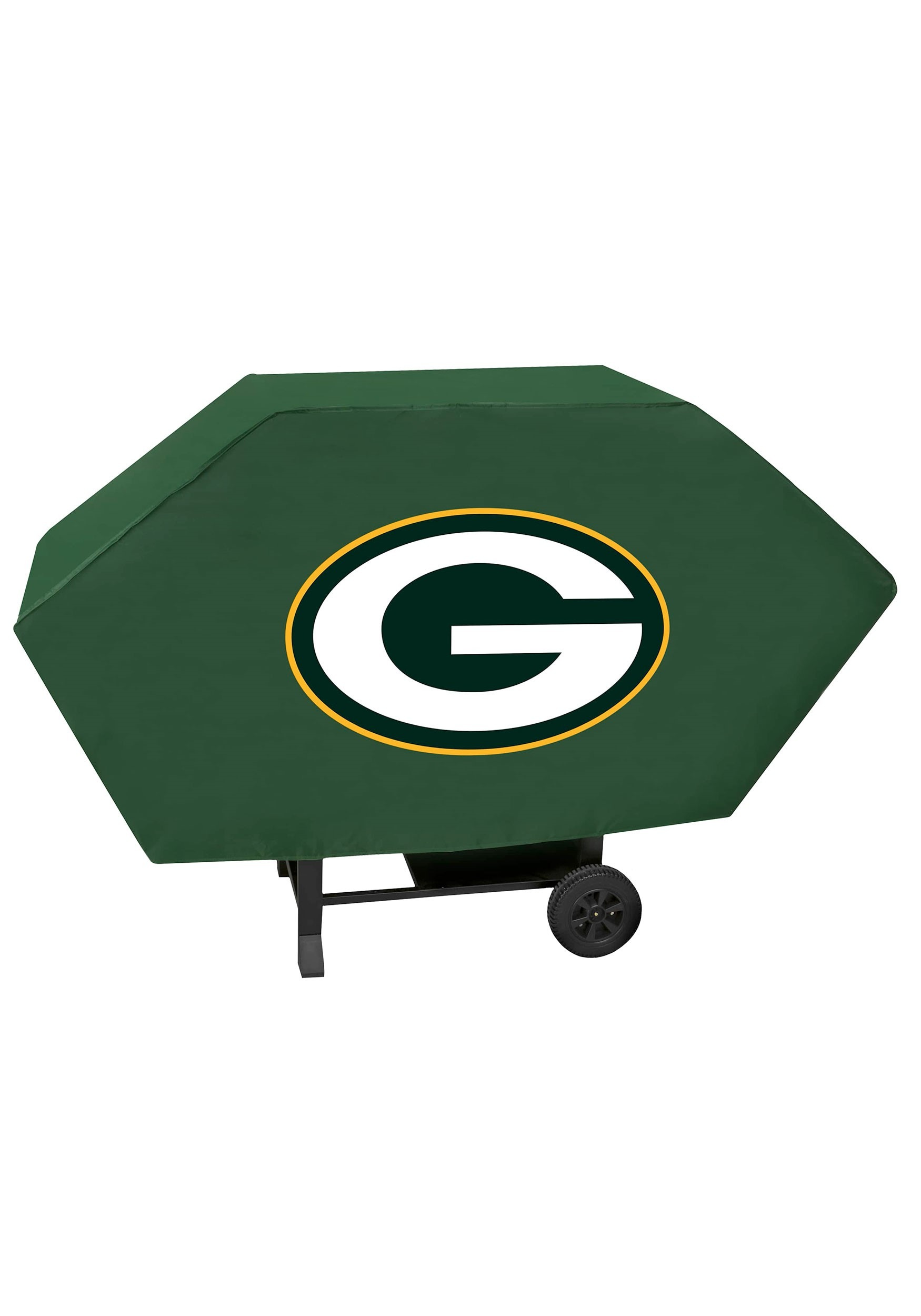 Green Bay Packers Deluxe Sleek Vinyl Padded NFL Grill Cover