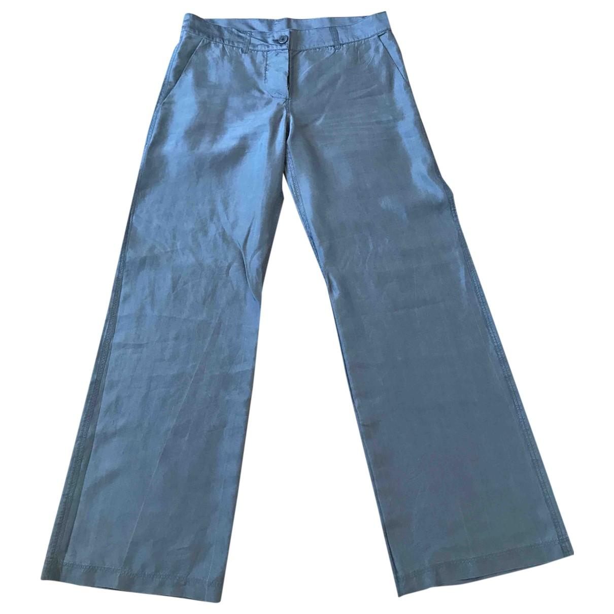 Pantalon largo de Seda Aspesi