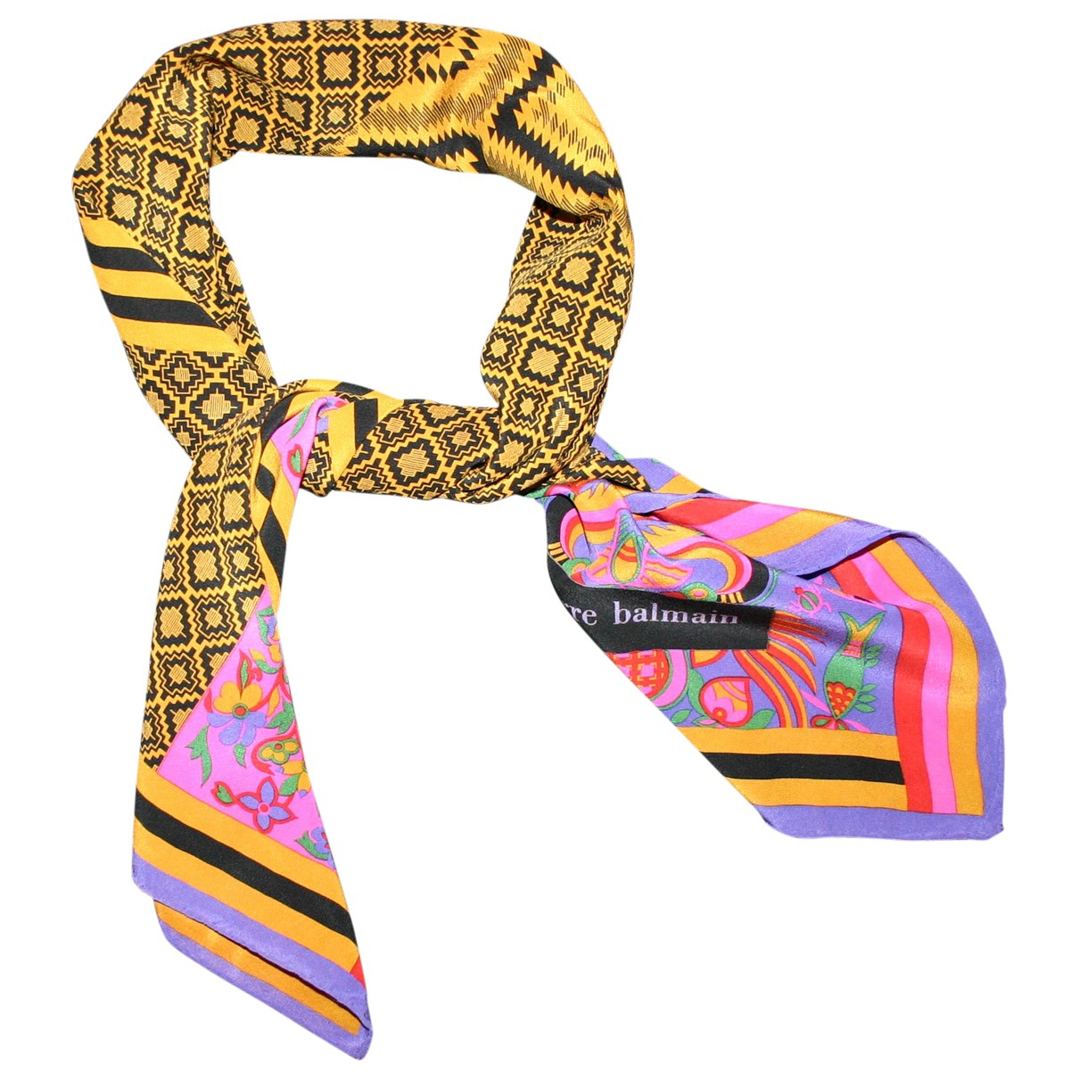 Pierre Balmain N Multicolour Silk Silk handkerchief for Women N