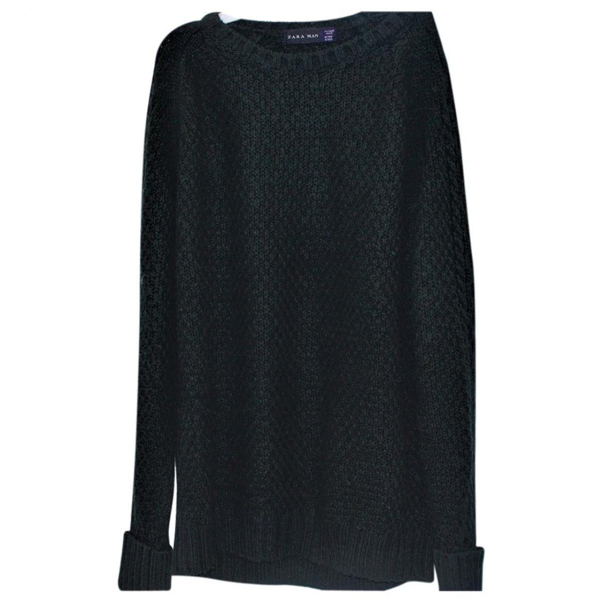Zara - Pulls.Gilets.Sweats   pour homme en laine - vert