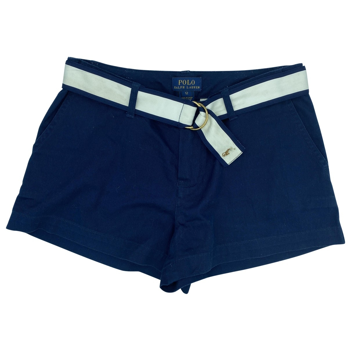 Polo Ralph Lauren \N Blue Cotton Shorts for Kids 14 years - S FR