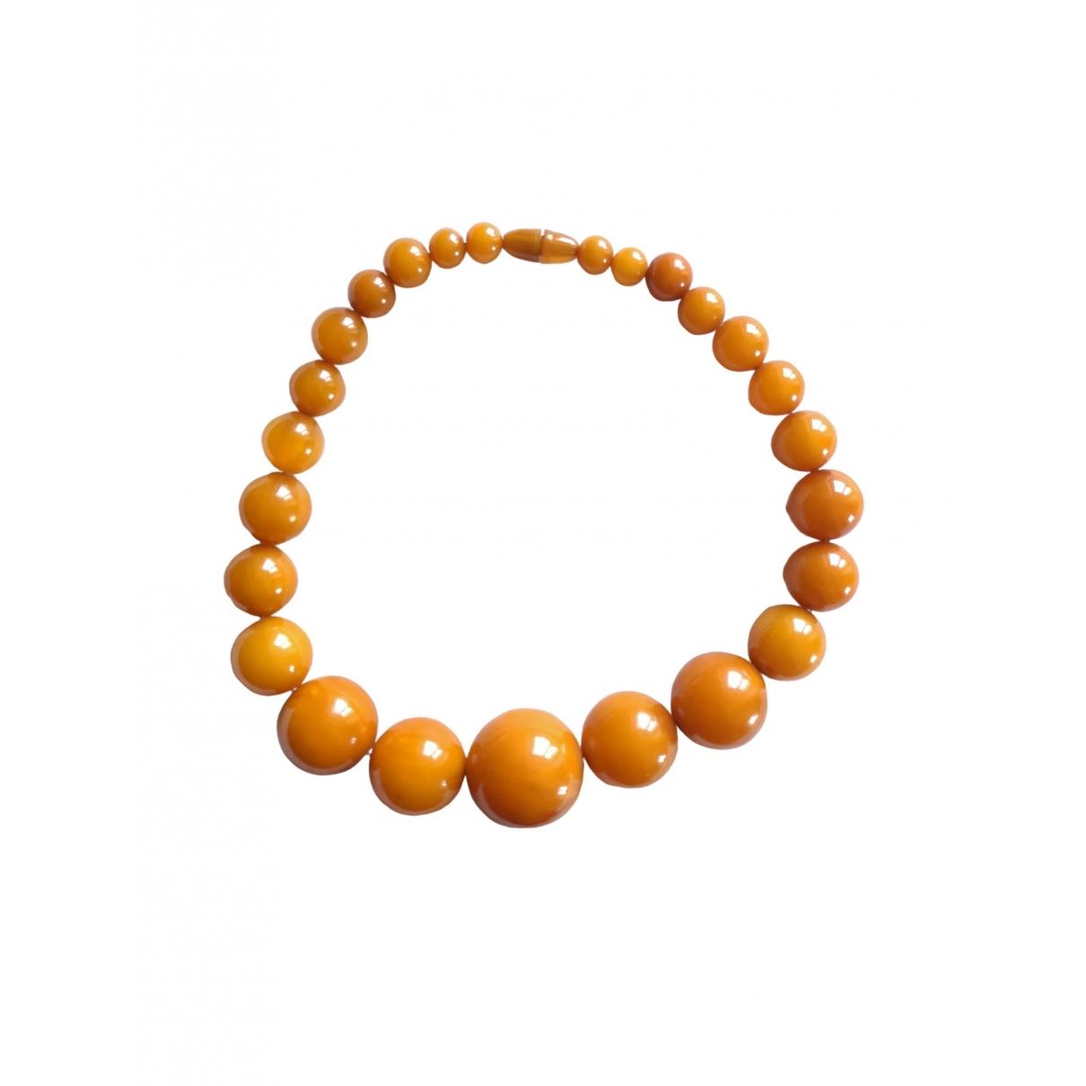 - Collier   pour femme - orange