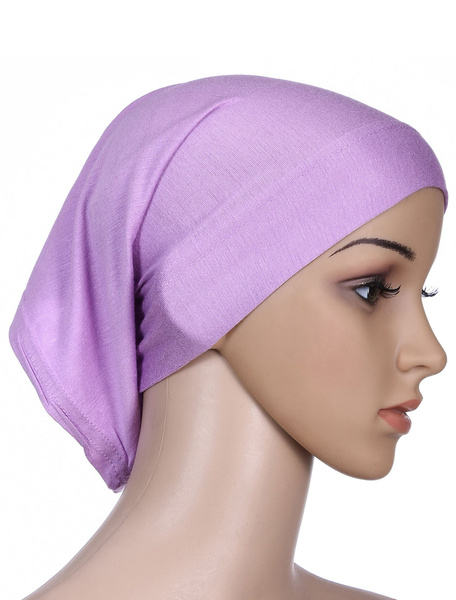 Milanoo Muslim Hijab Caps Inner Headscarf Cotton Underscarf Head Cover Cap