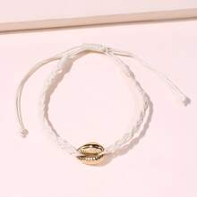 1pc Braided Shell Bracelet