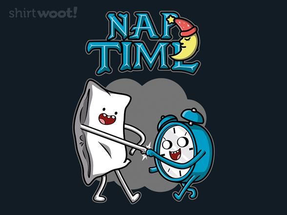 Nap Time Adventure T Shirt